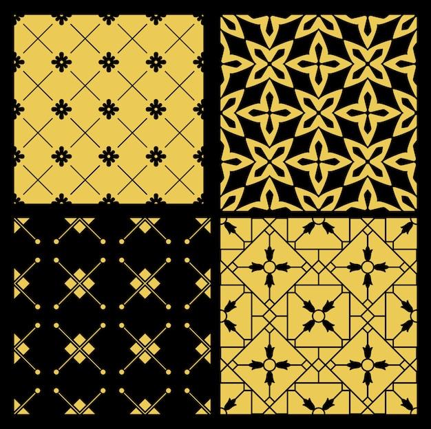 Conjunto de patrón de oro