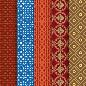 Conjunto de patrones chinos