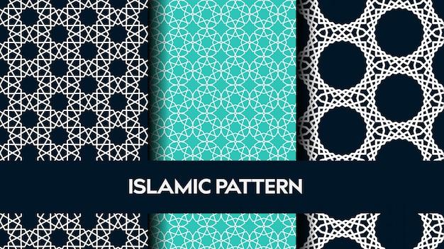 Conjunto de patrones sin fisuras de islam.