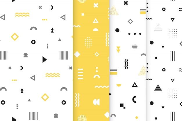 Conjunto de patrones sin fisuras de memphis.