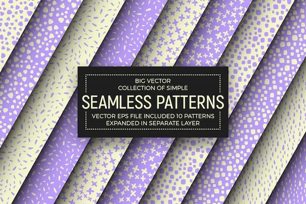 Conjunto de patrones sin fisuras simples abstractos