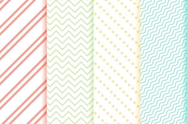 Conjunto de patrones geométricos mínimos