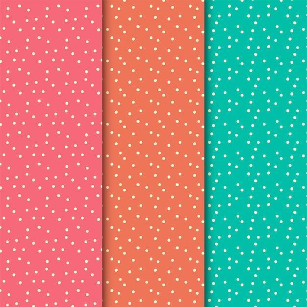 Conjunto de patrones de puntos