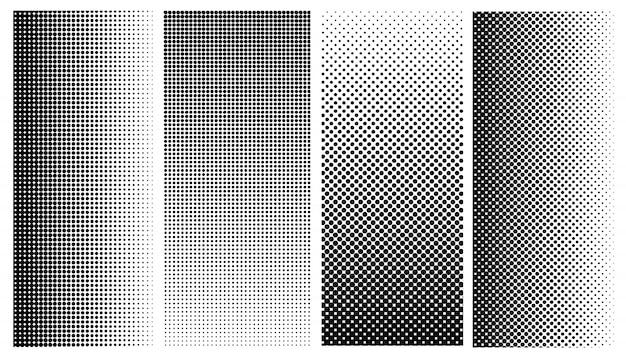 Conjunto de patrones de semitono.