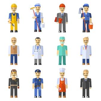 Conjunto de personas de profesión