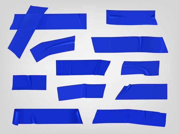 Conjunto de piezas de cinta adhesiva