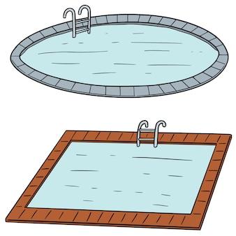 Conjunto de piscina