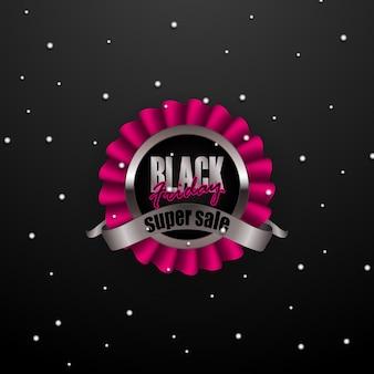 Conjunto de placa de viernes negro