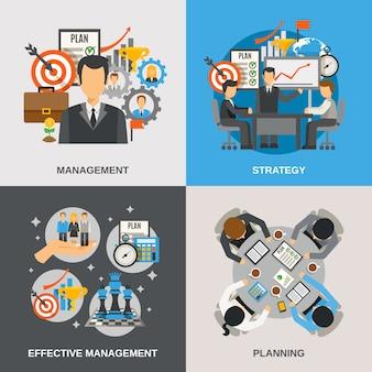 Conjunto plano de gestión