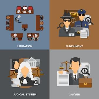 Conjunto plano de ley