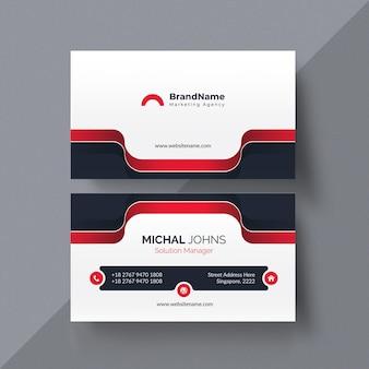 Conjunto de plantilla de diseño de tarjeta de visita