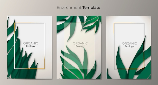 Conjunto de plantillas de entorno