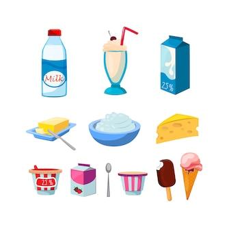 Conjunto de productos de diario