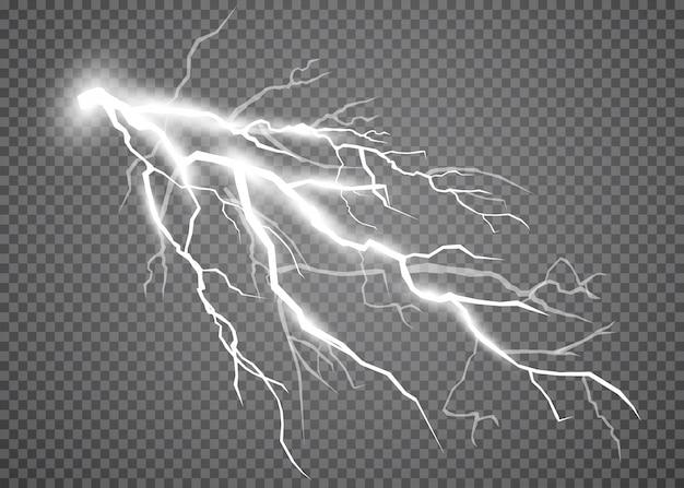 Conjunto de relámpagos tormentas eléctricas y relámpagos.