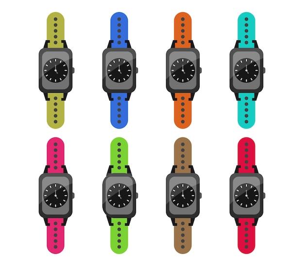 Conjunto de reloj de pulsera
