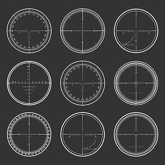 Conjunto de retícula de francotirador