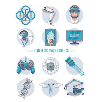Conjunto de robótica de alta tecnología
