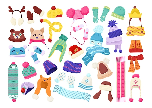 Conjunto de ropa de invierno para niños