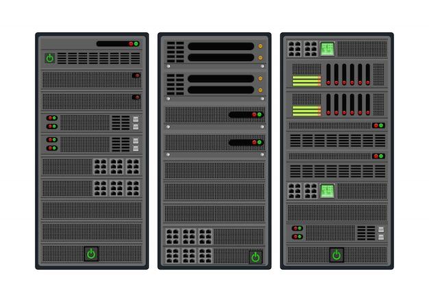 Conjunto de servidor informático