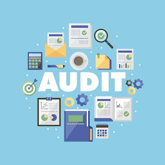 Conjunto de símbolos de auditoría