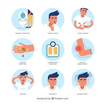 síntomas de hipoglucemia de la diabetes