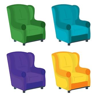 Conjunto de sofás de sillón