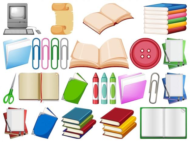 Conjunto de suministros de oficina