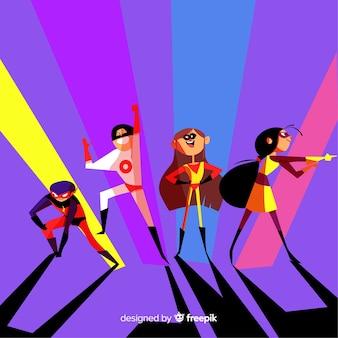 Conjunto de superheroes