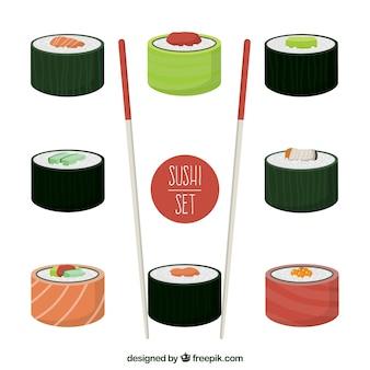 Conjunto del sushi