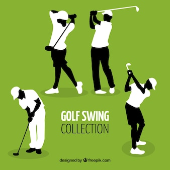 Conjunto de swings de golf