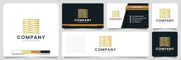 Conjunto de tarjeta de visita