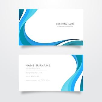 Conjunto de tarjetas abstractas