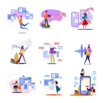 Conjunto de tecnología digital