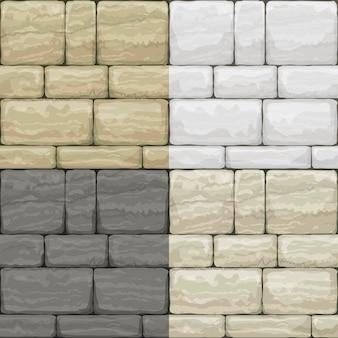 Conjunto textura de piedra antigua