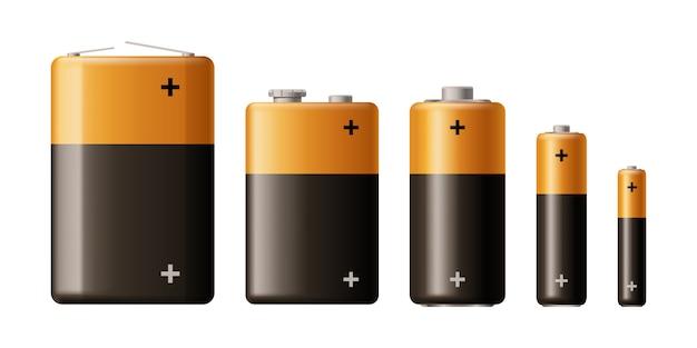 Conjunto de tipo de batería