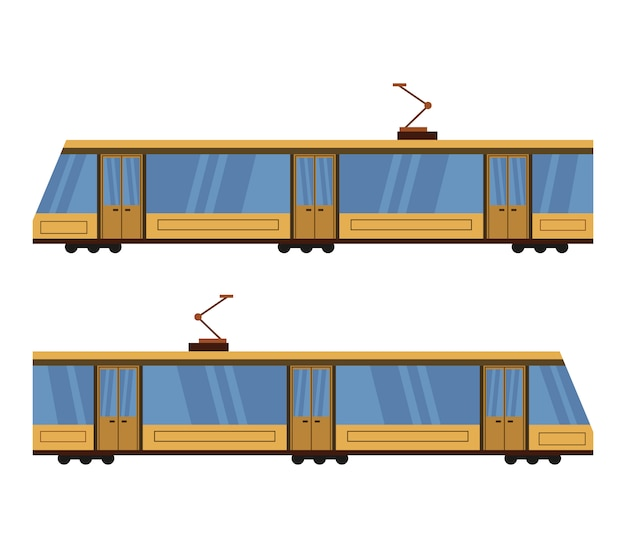Conjunto de tranvía