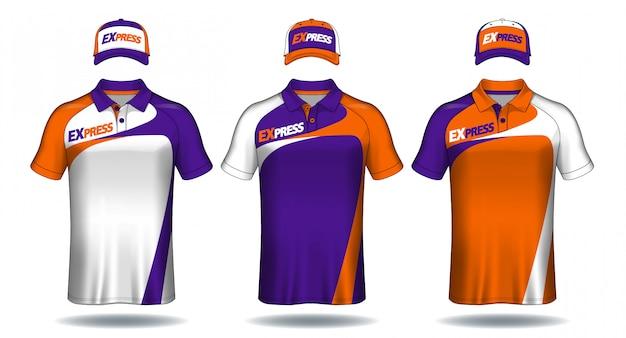 Conjunto de uniforme deportivo