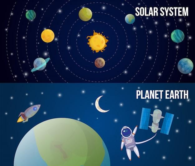 Conjunto de universo espacial