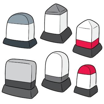 Conjunto de vectores de hito