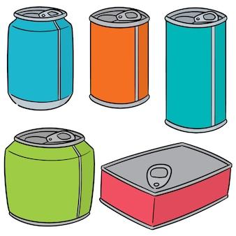 Conjunto de vectores de lata