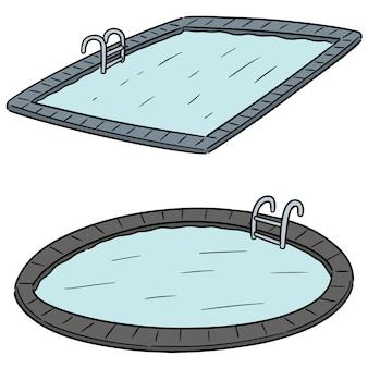 Conjunto de vectores de piscina