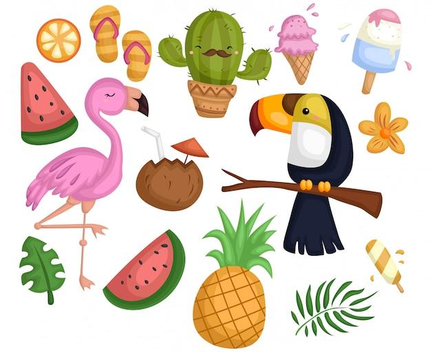Conjunto de vectores tropicales