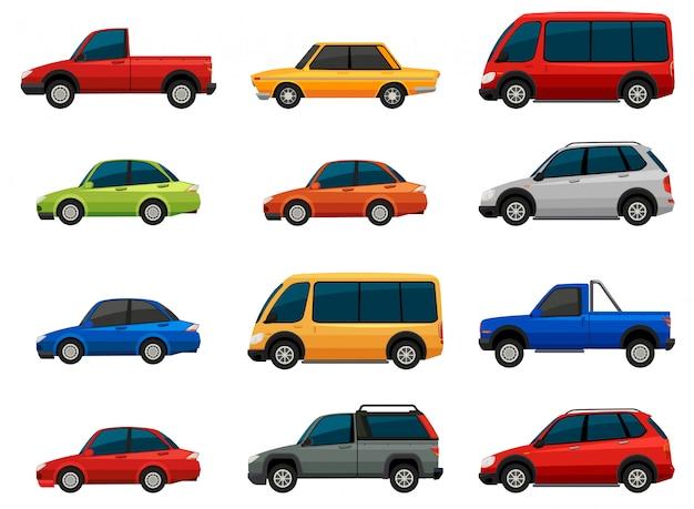 Conjunto de vehículos