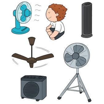 Conjunto de ventilador