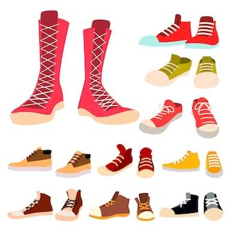 Conjunto de zapatillas