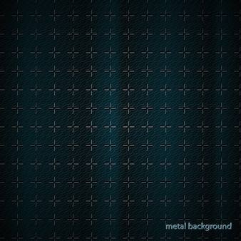 Conocimiento empresarial transparente, superficie de metal tratado