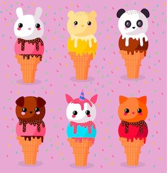 Conos de helado