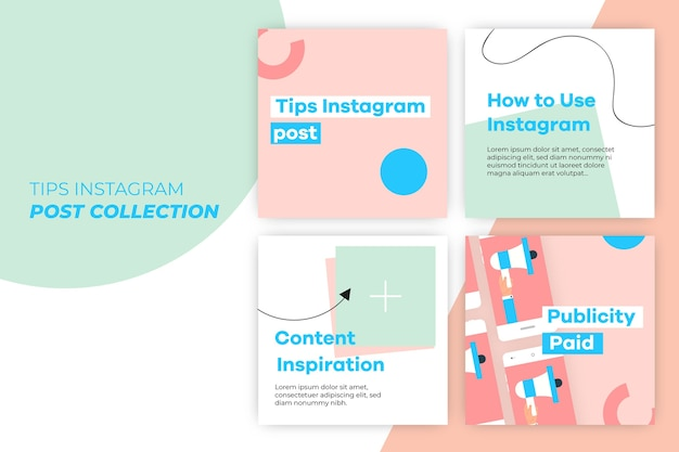 Consejos instagram post collection