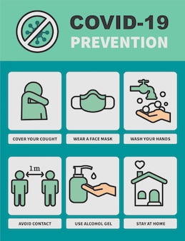 Consejos de prevención de coronavirus