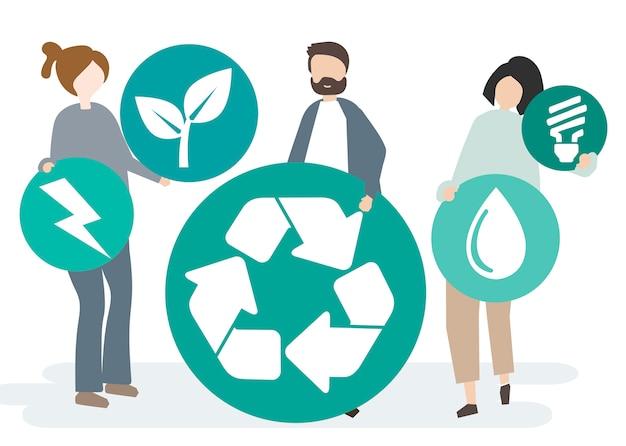 Conservación ambiental y protección de nuestro mundo.